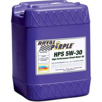 Royal Purple - Royal Purple HPS Motor Oil 5W30 Synthetic 5 gal - Each