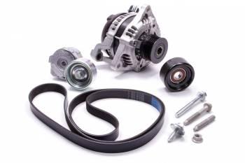 Ford Racing - Ford Racing Mustang Boss 302 Alternator Kit Alternator/Belt/Pulley/Tensioner - Ford Coyote