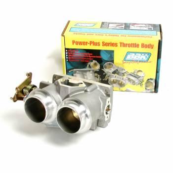 BBK Performance - BBK Performance Power Plus Throttle Body Stock Flange 61 mm Twin Blade Aluminum - Natural