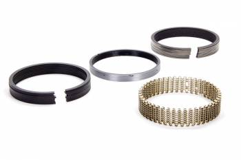 "Hastings - Hastings 4.040"" Bore Piston Rings 5/64 x 5/64 x 3/16"" Thick Standard Tension Moly - 8 Cylinder"