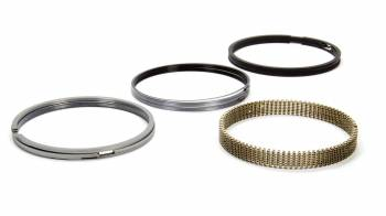 "Total Seal - Total Seal Classic Steel Piston Rings 4.145"" Bore File Fit 0.043 x 0.043 x 3.0 mm Thick - Standard Tension"