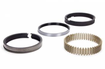 "Hastings - Hastings 4.165"" Bore Piston Rings 5/64 x 5/64 x 3/16"" Thick Standard Tension Moly - 8 Cylinder"