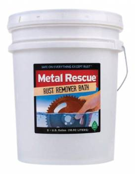 Workshop Hero - Workshop Hero Metal Rescue Rust Remover 5 gal