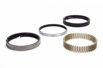 """Hastings - Hastings 4.250"""" Bore Piston Rings File Fit 5/64 x 5/64 x 3/16"""" Thick Low Tension - Moly"""