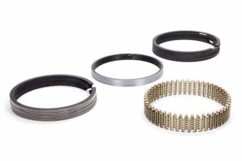 "Hastings - Hastings 4.280"" Bore Piston Rings 5/64 x 5/64 x 3/16"" Thick Standard Tension Moly - 8 Cylinder"