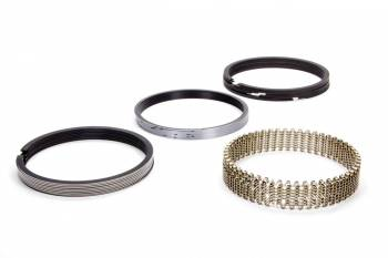 "Hastings - Hastings 4.500"" Bore Piston Rings 1/16 x 1/16 x 3/16"" Thick Standard Tension Moly - 8 Cylinder"