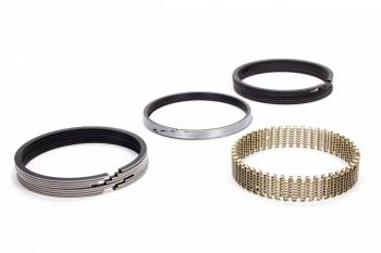 "Hastings - Hastings 4.370"" Bore Piston Rings 5/64 x 5/64 x 3/16"" Thick Standard Tension Moly - 8 Cylinder"
