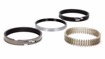 "Hastings - Hastings 4.360"" Bore Piston Rings 5/64 x 5/64 x 3/16"" Thick Standard Tension Moly - 8 Cylinder"