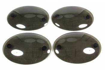 GT Styling - G.T. Styling (Special Order Only) Tail Light Headlight Cover Plastic Smoke Chevy Corvette 1997-2003 - Pair