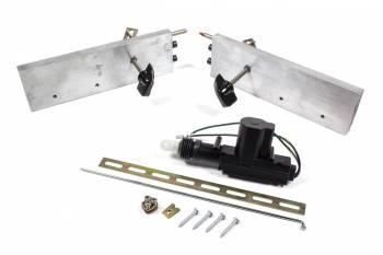 AutoLoc - AutoLoc Deadloc Power Door Lock Kit Power Lock Actuator/Linkage Included Aluminum/Steel - Natural