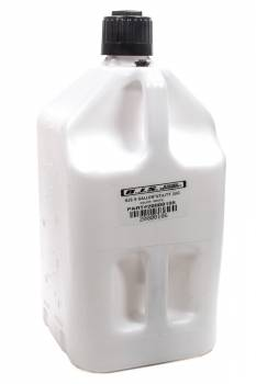 RJS Racing Equipment - RJS 5 Gallon Utility Jug - White