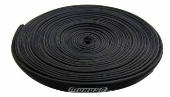 Moroso Performance Products - Moroso Performance Products 7 mm-8 mm Wires Spark Plug Wire Sleeve 25 ft Fiberglass/Silicone Black - Each