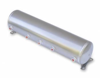 "RideTech - RideTech Suspension Compressed Air Tank 5 gal 7"" Diameter 30"" Long - Aluminum"