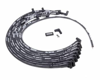 Moroso Performance Products - Moroso Performance Products Ultra 40 Spark Plug Wire Set Spiral Core 8.65 mm Black - 90 Degree Plug Boots