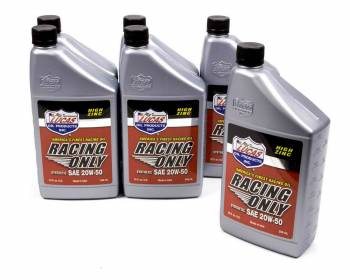 Lucas Oil Products - Lucas Oil Products Racing Motor Oil 20W50 Synthetic 1 qt - Set of 6