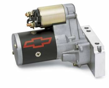GM Performance Parts - GM Performance Parts High Torque Starter 3.75:1 Gear Reduction Black/Gold 153/168 Tooth Flywheel - Chevy V6/V8