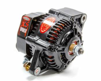 Powermaster Motorsports - Powermaster Motorsports XS 100mm Race Alternator 100 amp 12-16V 1-Wire - No Pulley