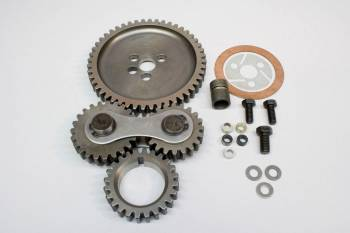 PRW Industries - PRW INDUSTRIES Dual Gear Timing Gear Drive Dual Idler Noisy Steel - Big Block Chevy