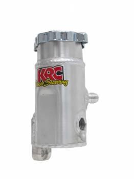 KRC Power Steering - KRC Power Steering Pro Series Power Steering Reservoir 45 Degree Bolt-On Pass Side - 6AN Male Inlet