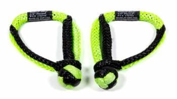 "Bubba Rope - Bubba Rope Mini Gator-Jaw Shackle 1/4"" Rope 11,000 lb Capacity Nylon - Green/Black"