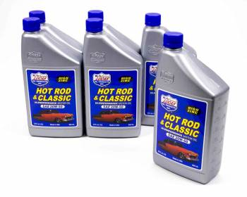 Lucas Oil Products - Lucas Oil Products Hot Rod and Classic Car Motor Oil ZDDP 20W50 Conventional - 1 qt