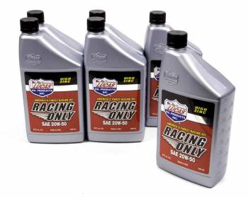 Lucas Oil Products - Lucas Oil Products Racing Motor Oil 20W50 Conventional 1 qt - Set of 6