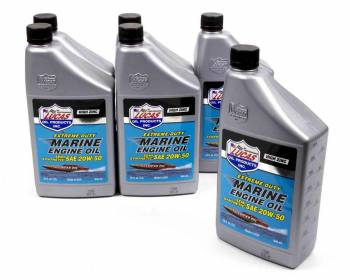 Lucas Oil Products - Lucas Oil Products ZDDP Motor Oil 20W50 Semi-Synthetic 1 qt - Marine