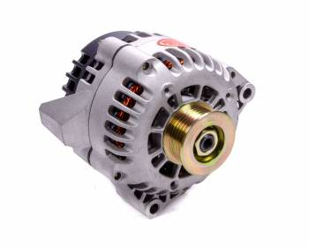 Powermaster Motorsports - Powermaster Motorsports CS130D Alternator 165 amp 12V 1-Wire - 6 Rib Serpentine Pulley