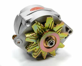 Powermaster Motorsports - Powermaster Motorsports 12si Race Alternator 80 amp 12V 1-Wire - Single V-Belt Pulley
