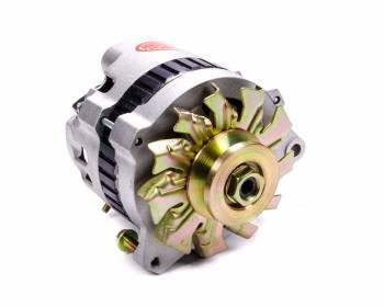 Powermaster Motorsports - Powermaster Motorsports CS130 Alternator 140 amp 12V 1-Wire - Single V-Belt Pulley