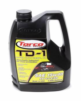 Torco - Torco TD-1 Super Diesel Motor Oil 15W40 Synthetic 4 L - Each