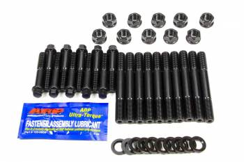 ARP - ARP Hex Nuts Main Stud Kit 4-Bolt Mains Chromoly Black Oxide - World Products
