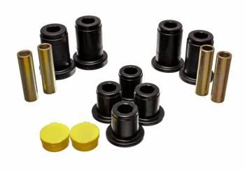 Energy Suspension - Energy Suspension Hyper-Flex Control Arm Bushing Front Upper/Lower Polyurethane - Black