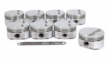 "D.S.S. Racing - DSS Racing E Series Piston Forged 4.000"" Bore 5/64 x 5/64 x 3/16"" Ring Grooves - Minus 5.0 cc"