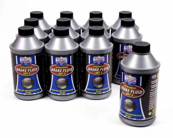 Lucas Oil Products - Lucas Oil Products DOT 3 Brake Fluid Synthetic 12.00 oz - Set of 12