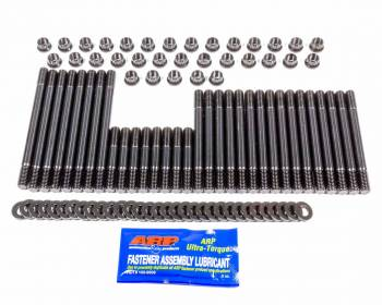 ARP - ARP Cylinder Head Stud 12 Point Nuts Chromoly Black Oxide - Aftermarket Head - Big Block Chevy - Kit