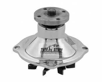Tuff Stuff Performance - Tuff Stuff Performance Mechanical Water Pump SuperCool High Volume Iron - Chrome