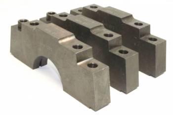 PRW Industries - PRW INDUSTRIES 4 Bolt Main Cap Center Caps Straight Bolts Steel - Big Block Chevy
