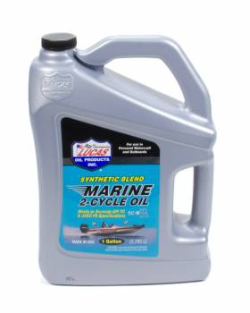 Lucas Oil Products - Lucas Oil Products TC-W3 Motor Oil Semi-Synthetic 1 gal Marine - Each