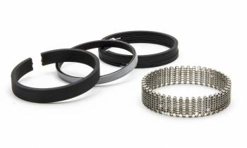 "Speed Pro - Speed Pro Economy Piston Rings 3.736"" Bore 5/64 x 5/64 x 3/16"" Thick Standard Tension - Iron"
