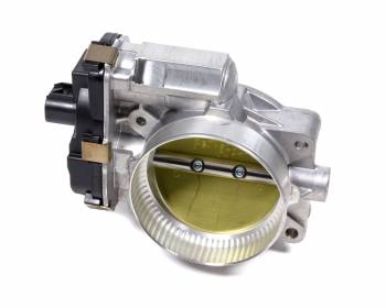 Jet Performance Products - Jet Performance Products Power-Flo Throttle Body Stock Size Aluminum Natural - Various GM Applications 2009-14