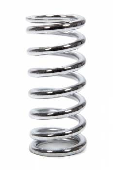 "QA1 Precision Products - QA1 Precision Products Coil-Over Coil Spring 2.500"" ID 8.0"" Length 500 lb/in Spring Rate - Chrome"
