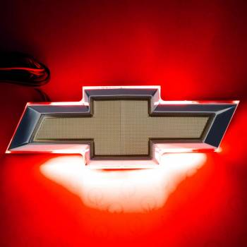 Oracle Lighting Technologies - Oracle Lighting Technologies Deck Lid Emblem LED Lighted Chevy Bowtie Red - Kit