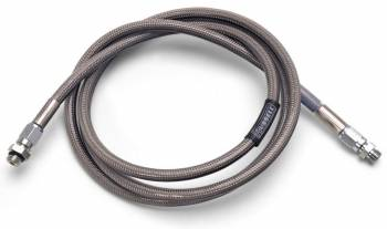 Russell Performance Products - Russell Performance Products 5 ft Long Brake Hose 3 AN Hose 3 AN Straight Female to 3 AN Straight Female DOT Approved - Braided Stainless