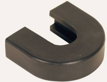 Longacre Racing Products - Longacre Racing Products High Density Foam Padding Hitch Pad Black