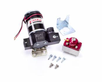 Quick Fuel Technology - Quick Fuel Technology QFT230 Electric Fuel Pump Inline 230 gph at 7 psi 10 AN Female O-Ring Inlet/Outlet - Regulator