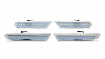 Oracle Lighting Technologies - Oracle Lighting Technologies SMD Concept LED Side Marker Light 2 Amber/2 Red Surface Mount Plastic - Clear Lens