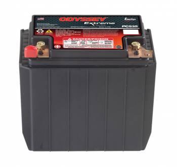 """Odyssey Battery - Odyssey Battery AGM Battery 12V 265 Cranking Amps Top Post Screw"""" Terminals - 6.70"""" L x 6.18"""" H x 3.90"""" W"""