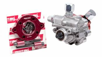 """Sweet Manufacturing - Sweet Manufacturing 3 gpm Power Steering Pump 1600 psi 3/8"""" Hex Drive Fuel Pump Adapter Included - Aluminum"""