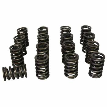 "Howards Cams - Howards Cams Single Spring/Damper Valve Spring 462 lb/in Spring Rate 1.200"" Coil Bind 1.525"" OD - Set of 16"